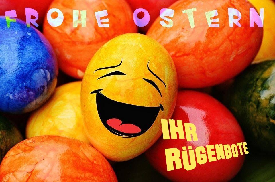 Rügenbote-Online wünscht ein gesundes, virenfreies Osterfest 2020