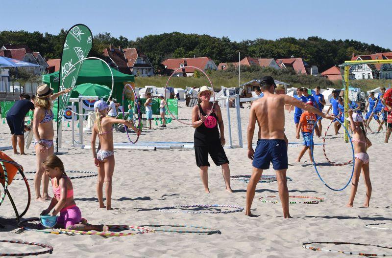In diesem Jahr wird es keine AOK AKTIV STRAND ON TOUR an der Ostseeküste von MV geben. Foto: Joachim Kloock